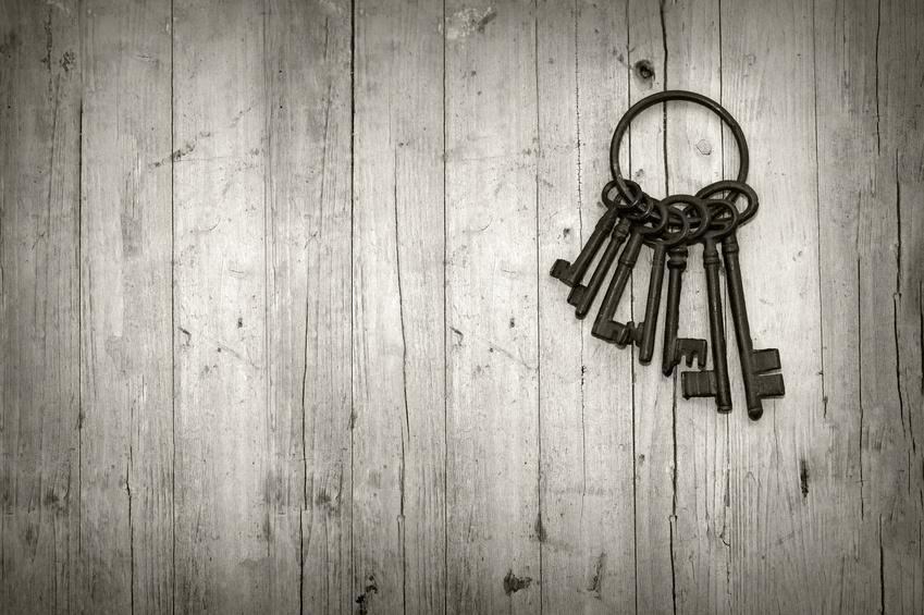 manojo de llaves antiguas