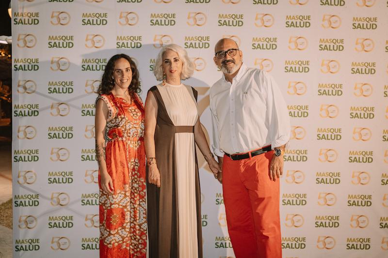 Ana Bonilla, Ana Espadas y Luis Méndez.
