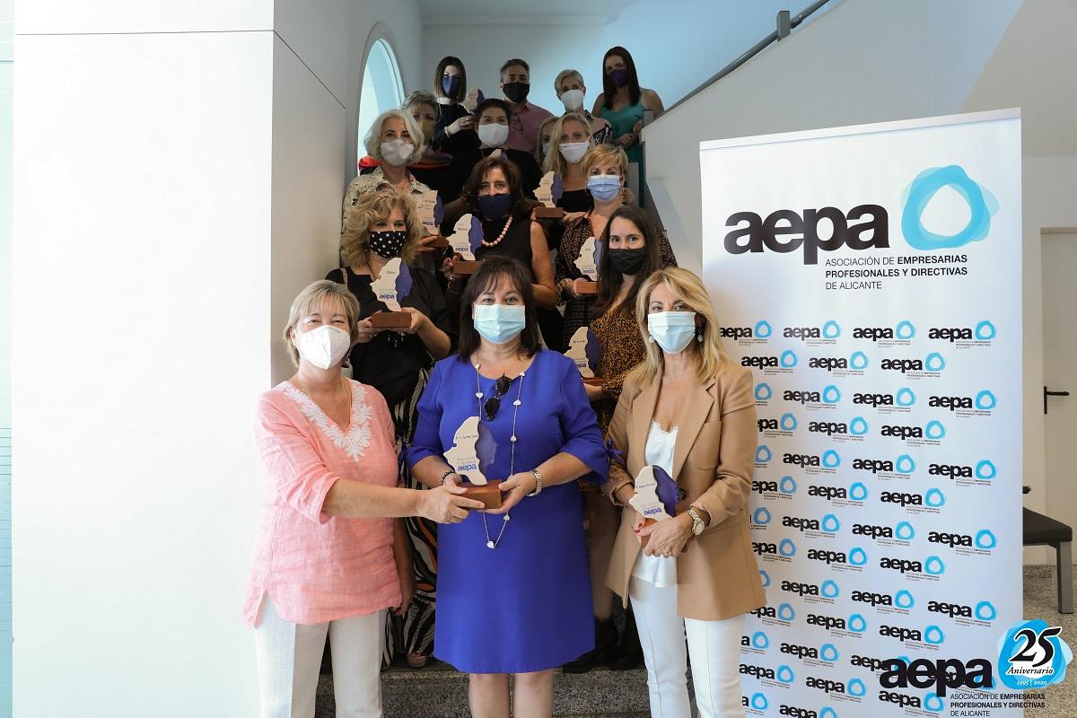 Sello de Igualdad AEPA ana espadas agencia 2020 empresarias